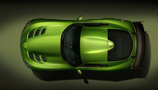 Dodge SRT Viper Stryker Green