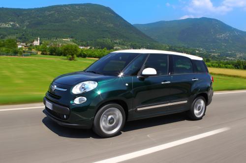 500 семья растет с Новым 2014 Fiat 500L Living