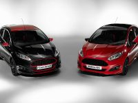 2014 Ford Fiesta Red and Black Editions