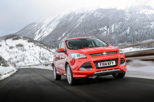 Форд Куга титана х Sport предлагает громкой багажника [видео]