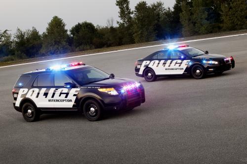 Форд Полицейский Инспектор Внедорожник Получать Обновления