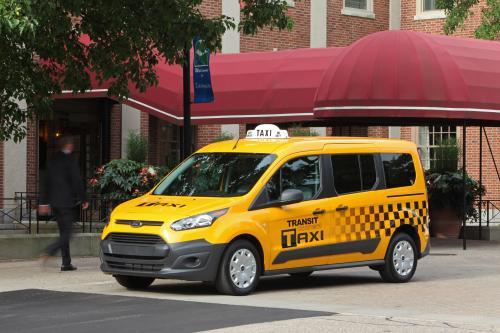 Следующего Поколения 2014 Подключения Такси Форд Транзит