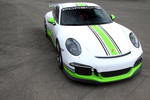 Fostla.de Wrapps-вверх на Porsche 991 GT3 (по