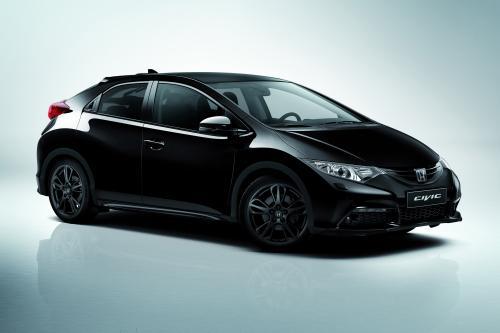 Хонда Запускает 2014 Цивик Черный Издание