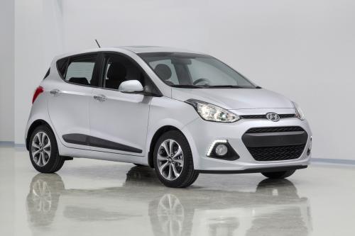 2014 Hyundai i10 выявлены и дебютирует во Франкфурте