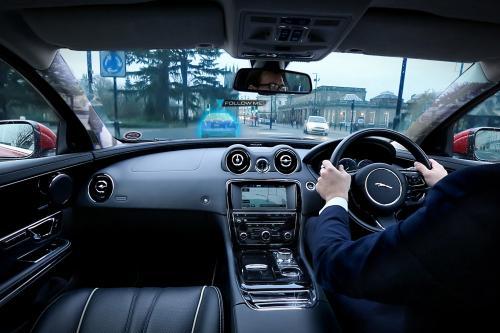 Jaguar Range Rover - новая технология