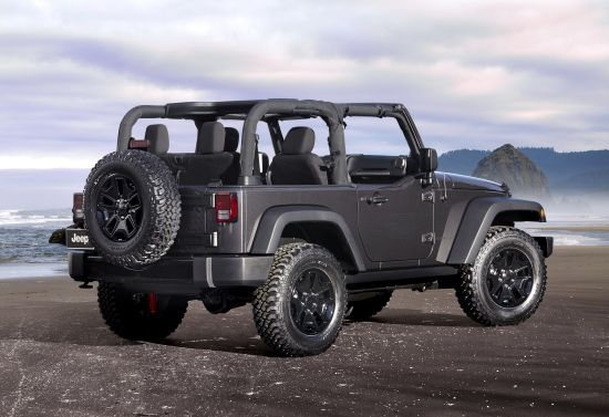 Jeep Wrangler Willys Wheeler Edition