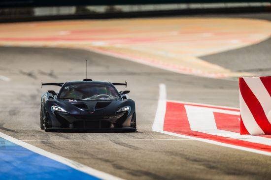McLaren P1 GTR Prototype On Track