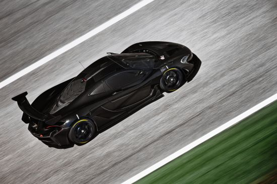 McLaren P1 GTR Prototype On Track