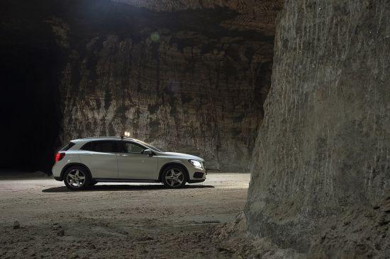 Mercedes-Benz GLA-Class Off-Road