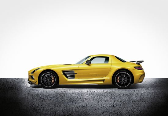 Mercedes-Benz SLS AMG Coupe Black Series