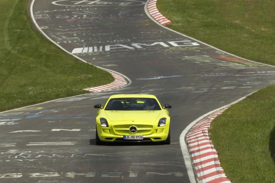 Mercedes-Benz SLS AMG Coupe Electric Drive Production Car