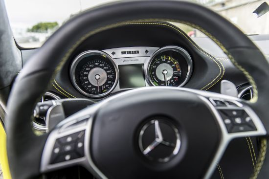 Mercedes-Benz SLS AMG Coupe Electric Drive Production Car