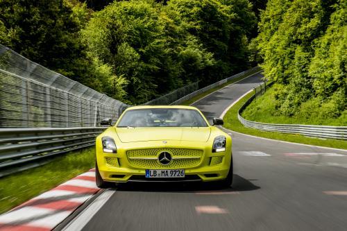 2014 Mercedes-Benz SLS AMG Coupe Electric Drive производства автомобиля