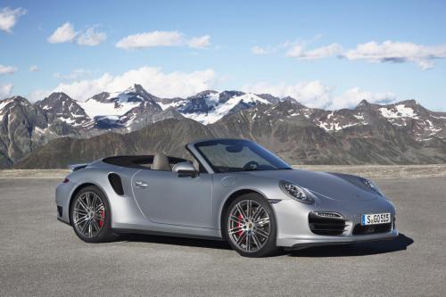 в 2014 году Porsche 911 Турбо Кабриолет [видео]