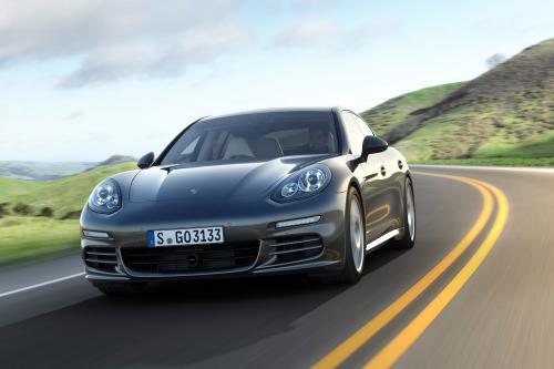 2014 Porsche Panamera E-Hybrid Показал!