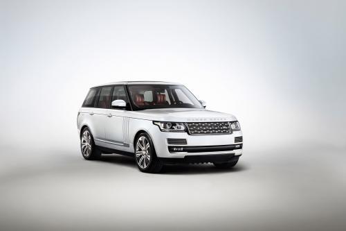 2014 Году Range Rover С Длинной Колесной Базой - Еще Более Роскошным