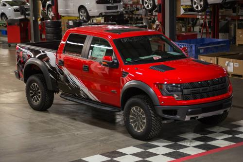 Roush Supercharger F150 >> 2014 Roush Off-Road Ford F-150 SVT Raptor With Custom Graphics