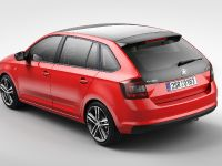 2014 Skoda Rapid Spaceback - Rear Angle