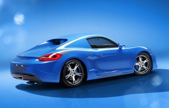StudioTorino Moncenisio Porsche Cayman Concept