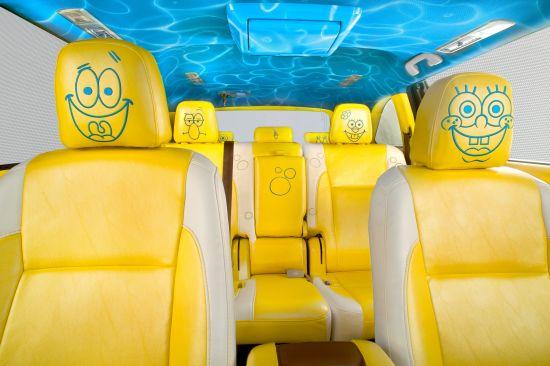 Toyota Highlander SpongeBob SquarePants