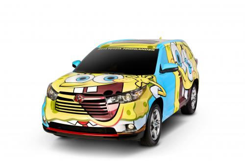 Toyota Выпускает Губка Боб Квадратные Штаны Вдохновил Highlander 2014