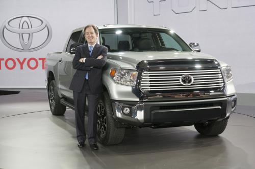 2014 Toyota Tundra на Chicago Auto Show