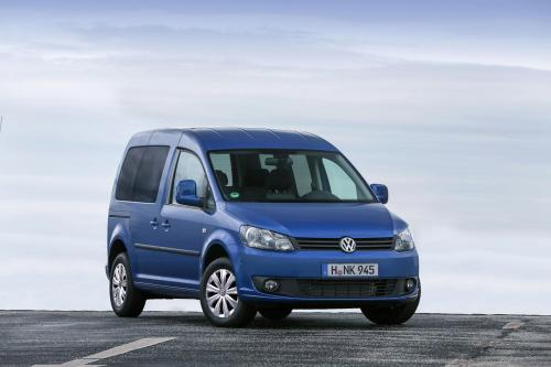 2014 Volkswagen Caddy BlueMotion - 4,5 л / 100км