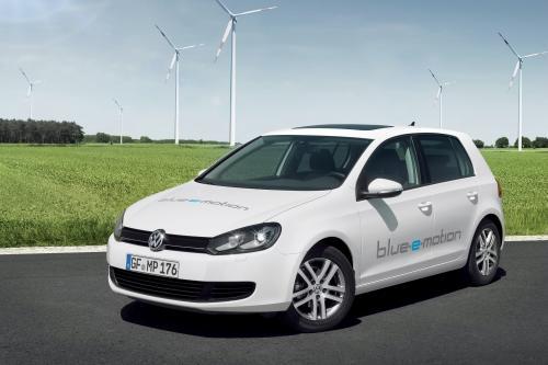 2014 Volkswagen Golf Blue-E-Motion - ноль выбросов автомобиля