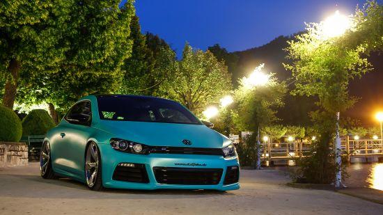Volkswagen Scirocco Matt Caribbean Metallic