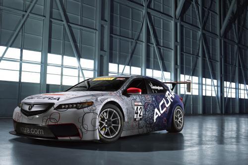 2015 Акура TLX прототип и TLX GT гоночный автомобиль дебютировали на Naias