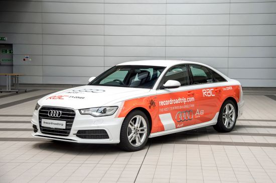 Audi A6 TDI Guinness World Record