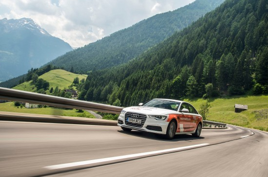 Audi A6 TDI Guinness World Record