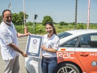 2015 Audi A6 TDI Guinness World Record, 10 of 11