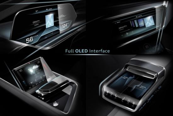 Audi e-tron quattro Concept Sketches