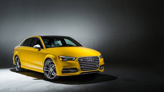 Audi S3 Exclusive Editions in Five Colors