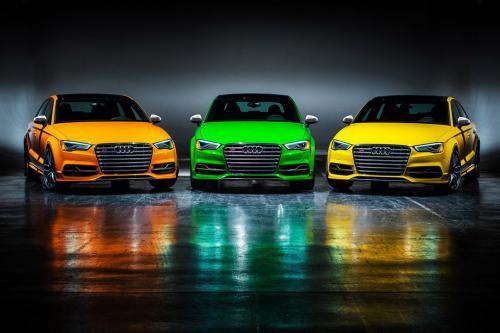 Audi S3 Exclusive Editions в 5 цветах
