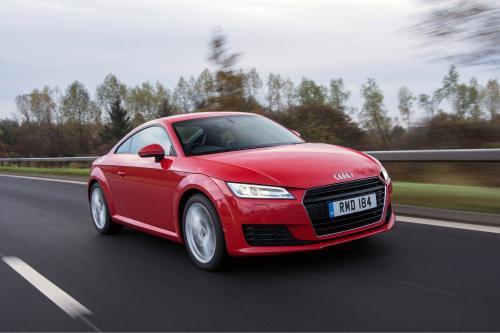 2015 Audi ТТ Coupe TDI выигрывает одну награду!