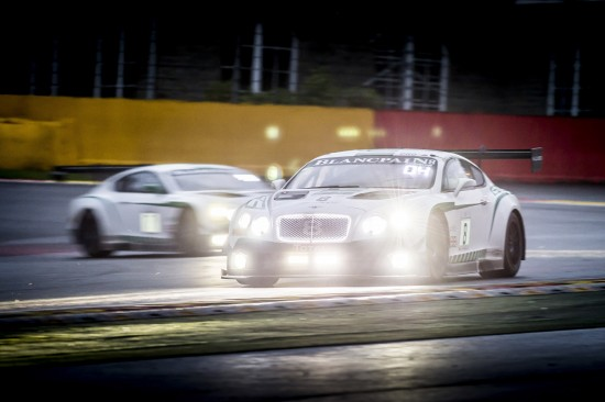 Bentley Continental GT3 at 24 Hours of SPA