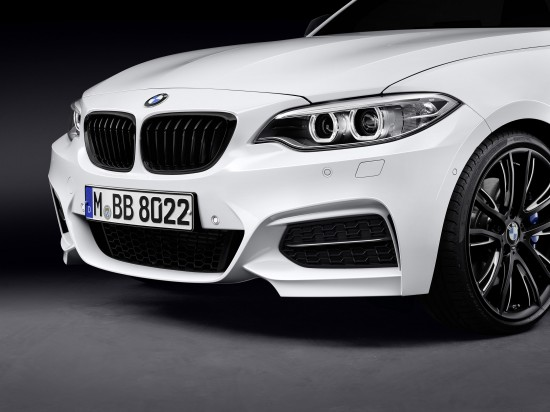 BMW 2 Series Convertible with M Performance Parts