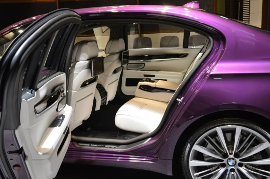 BMW 760Li V12M Biturbo in Twilight Purple