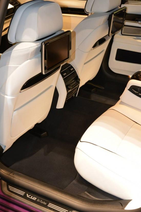 BMW 760Li V12M Biturbo in Twilight Purple