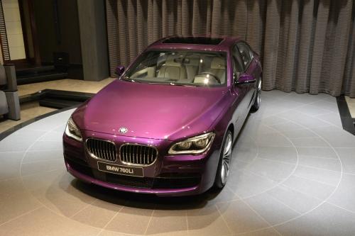 Что вы думаете про фиолетовый БМВ 760Li?