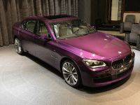 2015 BMW 760Li V12M Biturbo in Twilight Purple, 3 of 20