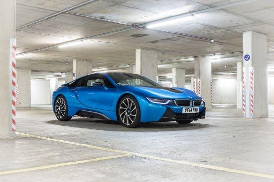 BMW i8 UK