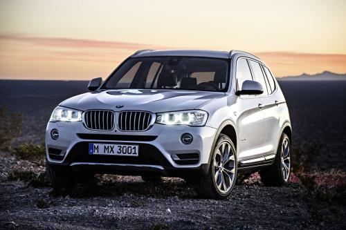 2015 BMW Х3 - обновлен Экстерьер, интерьер и линейка двигателей