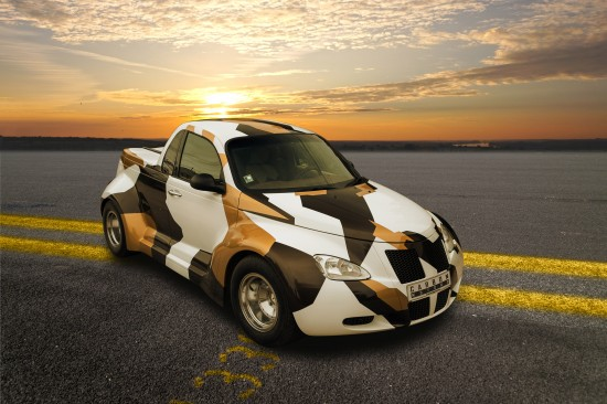 Carbon Motors Chrysler PT Cruiser Widebody
