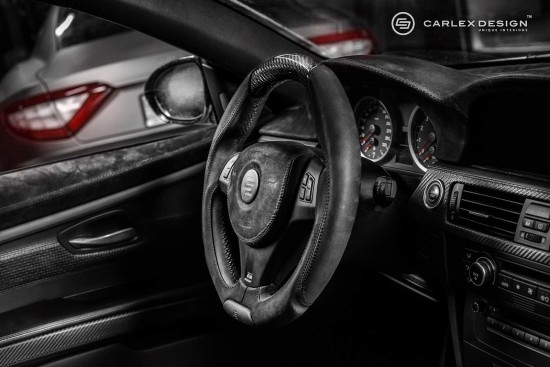 Carlex Design BMW M3 Black Spinell