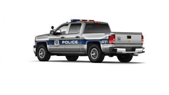 Chevrolet Silverado 1500 Crew Cab Special Service Vehicle
