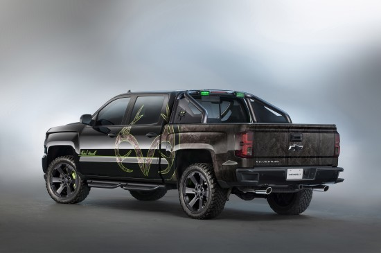 Chevrolet Silverado Realtree Bone Collector Concept